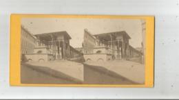 WIESBADEN (ALLEMAGNE) PHOTO STEREOSCOPIQUE ANCIENNE  LA FONTAINE BRULANTE - Photos Stéréoscopiques