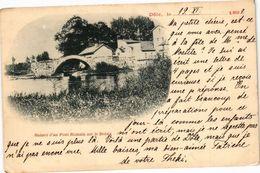 CPA DOLE -Ruines D'un Pont ROMAIN Sur Le Doubs (263570) - Dole