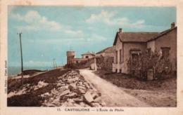 910Cr  Algérie Castiglione L'Ecole De Pêche (pas Courante) - Otras Ciudades