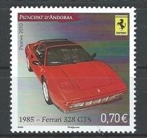 "Andorre YT 696 "" Automobile, Ferrari "" 2010 Neuf** - French Andorra"