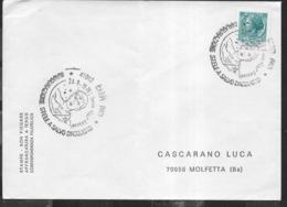 ITALIA - ANNULLO SPECIALE - CARPI (MO) - 24.09.1978 - INAUGURAZIONE STELE A SALVO D'ACQUISTO - SU BUSTA - 1946-.. Republiek