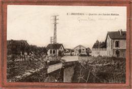 CPA - BRUYERES (88) - Aspect Du Quartier Humbert Des Gardes Mobiles En 1915 - Bruyeres
