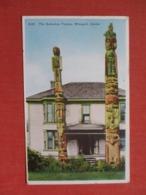 The Kadashan Totems Wrangell Alaska    Ref 3689 - Indiens De L'Amerique Du Nord