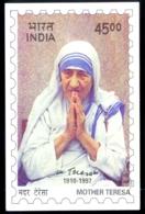 MOTHER TERESA-MAXIMUM CARD-UNSTAMPED-INDIA-MNH-MC-103 - Mutter Teresa