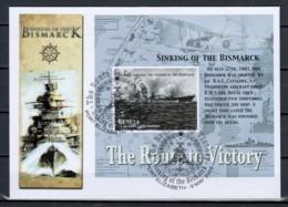 Bequia 2005 SINKING OF THE BISMARCK - Seconda Guerra Mondiale