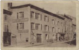 57  Chateau-salins  Hotel De La Couronne Avec Note Au Verso - Chateau Salins
