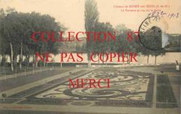 ☺♦♦ 78 - ROSNY Sur SEINE - PARTERRE Du CHATEAU Et VUE Sur La SEINE - Carte Signé J. Leduc < Photo A. Lavergne - Rosny Sur Seine