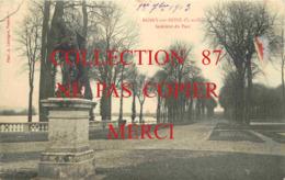 ☺♦♦ 78 - ROSNY Sur SEINE - INTERIEUR Du PARC Du CHATEAU Et JARDIN - Carte Signé J. Leduc < Photo A. Lavergne - Rosny Sur Seine
