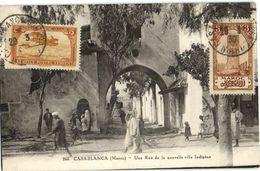 CPA MAROC CASABLANCA Une Rue (23482) - Casablanca