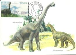 Carte Maximum - Portugal - Dinossauro - Dinosaure - Dinosaur - Brachiosauros - ATM - Francobolli
