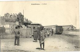 CPA MAROC CASABLANCA Le Quai (23824) - Casablanca