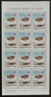 Yougoslavie 1987 Nobel Red Cross Croix Rouge  Feuillet De 12 I  MNH - Nobel Prize Laureates
