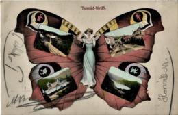 Tusnad Furdo 1910 - Romania - Butterfly - Roemenië