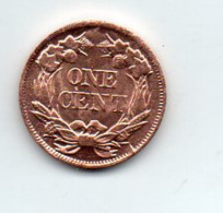 USA : 1 Ct 1858 - Émissions Fédérales