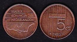Netherland - 5 Cent / 1985 - [ 3] 1815-… : Kingdom Of The Netherlands