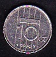 Netherland - 10 Cent / 1994 - [ 3] 1815-… : Kingdom Of The Netherlands