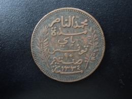 TUNISIE : 10 CENTIMES    1334 / 1916 A     KM 236     TTB - Tunesië