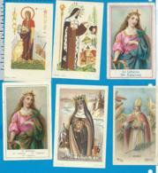 Holycard    Lot   6 Pieces - Devotion Images