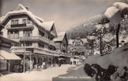 WENGEN - DORFSTRASSE ~ AN OLD POSTCARD #98759 - Switzerland