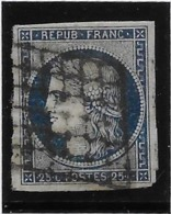 France N°4 - Oblitéré - TB - 1849-1850 Ceres