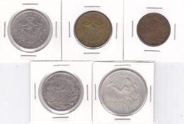 Romania, Lot Of 5 Coins - 500-10.000 Lei, 1944-1947 - Silver - KM# 65, 67, 70, 71, 76 - Roemenië