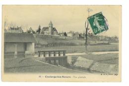 CPA 58 COULANGES-LES-NEVERS VUE GENERALE - Frankreich