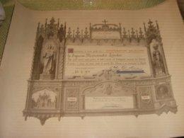 DIPLOMA COOPERATORI SALESIANI 1911 - Diplome Und Schulzeugnisse