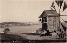 SOZOPOL : WINDMILL In BULGARIA / MOULIN à VENT - CARTE VRAIE PHOTO / REAL PHOTO POSTCARD ~ 1930 - RRR !!! (ad168) - Bulgaria
