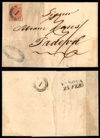 Antichi Stati Italiani - Lombardo Veneto - Distribuzione 1 (P.ti 11) Ripetuto Al Retro - 15 Cent (3a - Prima Tiratura) C - Francobolli
