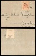 Antichi Stati Italiani - Lombardo Veneto - Auronzo (Pt.i 8) - 15 Cent (20) Su Frammento Di Lettera Per Ceneda - Molto Be - Stamps