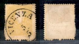 Antichi Stati Italiani - Lombardo Veneto - 1859 - 2 Soldi (28a - Giallo Vivo) Usato (200) - Francobolli