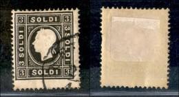 Antichi Stati Italiani - Lombardo Veneto - 1859 - 3 Soldi (29) Usato (250) - Stamps