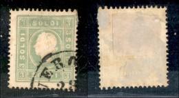Antichi Stati Italiani - Lombardo Veneto - 1862 - 3 Soldi (35) Usato (185) - Francobolli