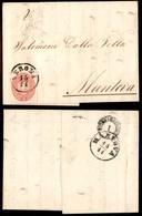 Antichi Stati Italiani - Lombardo Veneto - 5 Soldi (38) - Lettera Da Verona A Mantova Del 15.11.63 (150) - Stamps