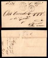 Antichi Stati Italiani - Lombardo Veneto - Mornico (P.ti 5) - Piego In Franchigia Per Città Del 21.11.63 - Stamps