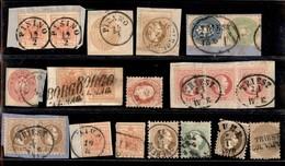 Antichi Stati Italiani - Territori Italiani D'Austria - Usi Nei Territori Italiani D'Austria - 15 Pezzi Diversi - Ottimo - Stamps