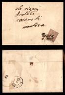 Antichi Stati Italiani - Territori Italiani D'Austria - 10 Kreuzer (9) - Lettera Da Trento A Mantova Del 2.12.59 - Francobolli