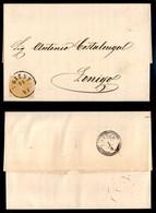 Antichi Stati Italiani - Territori Italiani D'Austria - 2 Kreuzer (27) Isolato Su Circolare Da Trento A Lonigo Del 31.3. - Stamps