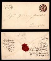 Antichi Stati Italiani - Territori Italiani D'Austria - Neumarkt In Tirol - Busta Postale Da 5 Kreuzer Per Bronzolo - Francobolli