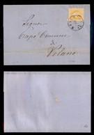 Antichi Stati Italiani - Territori Italiani D'Austria - Rovereto - 2 Kreuzer (32) Isolato Su Circolare Per Valano Del 8. - Stamps