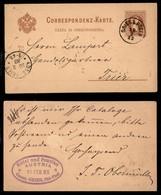Antichi Stati Italiani - Territori Italiani D'Austria - Gries B. Bozen (P.ti 5) - Cartolina Postale Da 2 Kreuzer Per Tri - Stamps