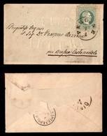 Antichi Stati Italiani - Territori Italiani D'Austria - Felici Auguri - Bustina Da Pergine A Brescia Col 3 Kreuzer (33) - Stamps