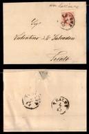 Antichi Stati Italiani - Territori Italiani D'Austria - Da Calliano (manoscritto) - 5 Kreuzer (34) Annullato In Arrivo S - Francobolli