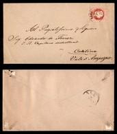 Antichi Stati Italiani - Territori Italiani D'Austria - Rabbi Tirolo (P.ti 4) - 5 Kreuzer (34) Su Busta Per Cortina Del  - Stamps