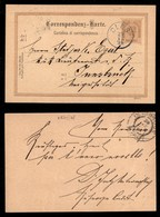 Antichi Stati Italiani - Territori Italiani D'Austria - Ces (azzurro) - Cartolina Postale Per Innsbruck Del 29.12.94 - Francobolli