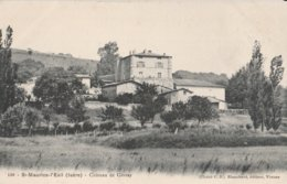 CPA  38 SAINT MAURICE L'EXIL  CHATEAU DE GIVRAY - Francia