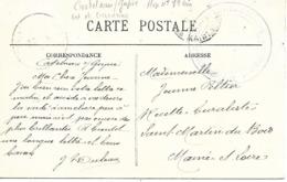47- Cachet Hôpital N°89 Bis De Castelnau-sur-Gupie Sur CP En 14/18 - Marcophilie (Lettres)
