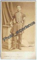 Photo Cdv XIX Militaire Grenadier Garde Impériale 1863 PARIS France - Oud (voor 1900)