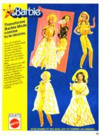 """PUB POUPEE """" BARBIE  """"   1978  (28 ) - Barbie"""