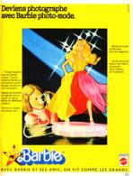 """PUB POUPEE """" BARBIE  """"   1978  (30 ) - Barbie"""